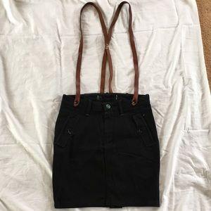 Wrangler Skirt with suspenders